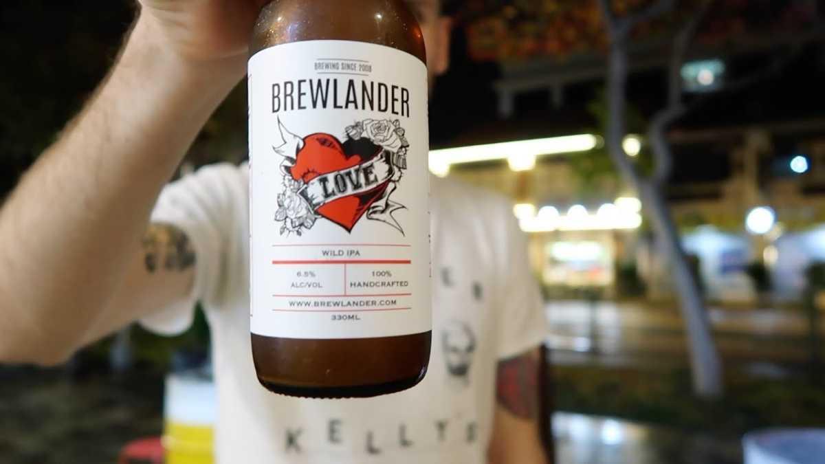 Love by Brewlander Beer of Singapore