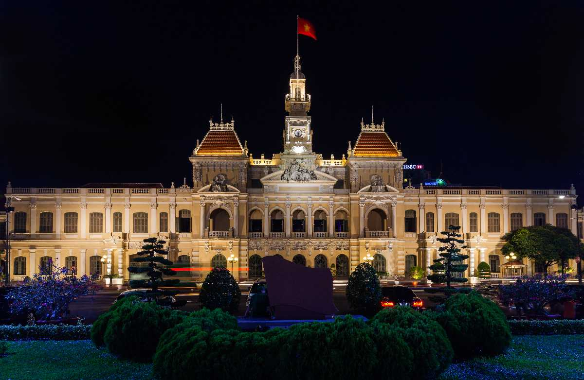 Peoples Committee Building Ho Chi Minh City Hall, French Architecture in Vietnam