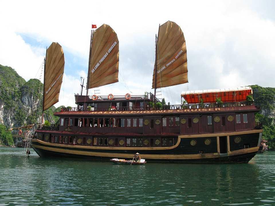 Ha Long Bay's Famed Wooden Boats