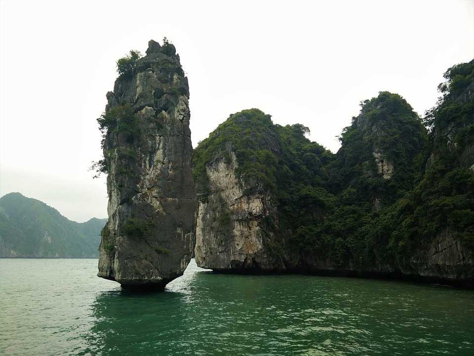 Island Cliff, One of the more Dangerous Islands of Halong Bay