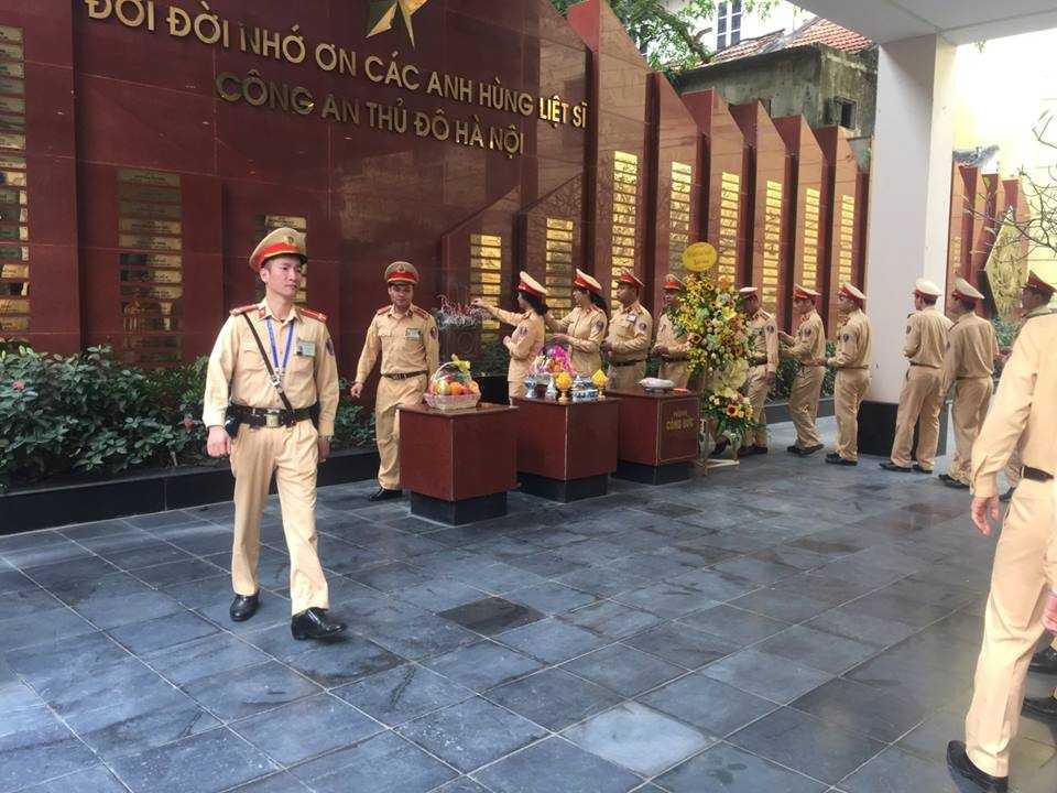Police at Hanoi Police Museum Vietnam