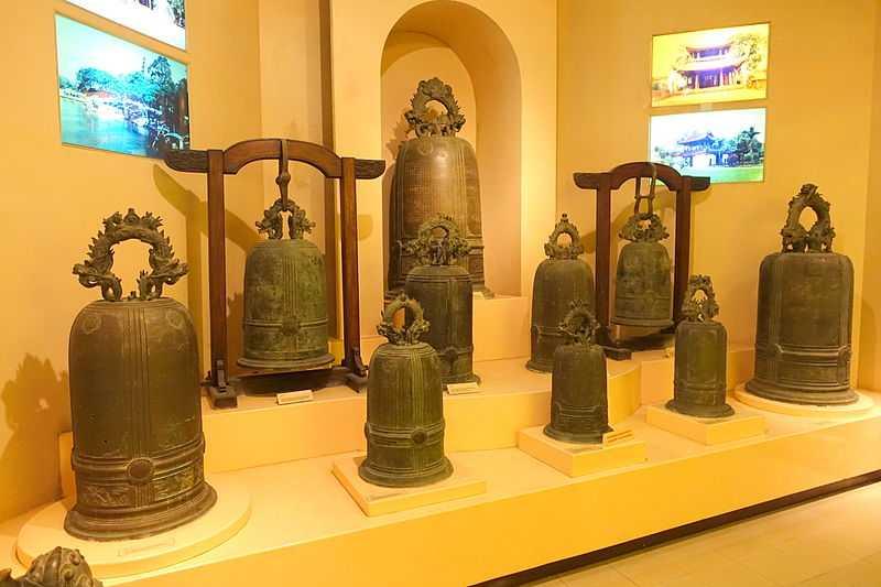 Bells at Hanoi Museum