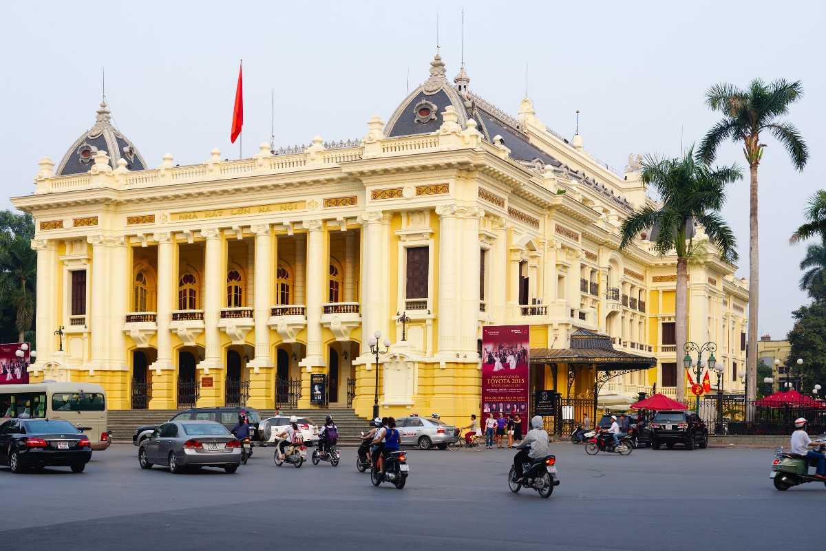 Hanoi Opera House, French Architecture in Vietnam