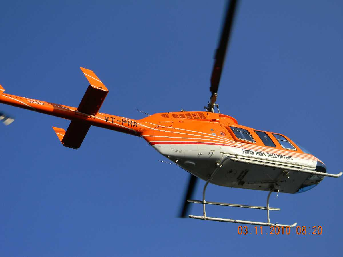 Chardham helicopter yatra