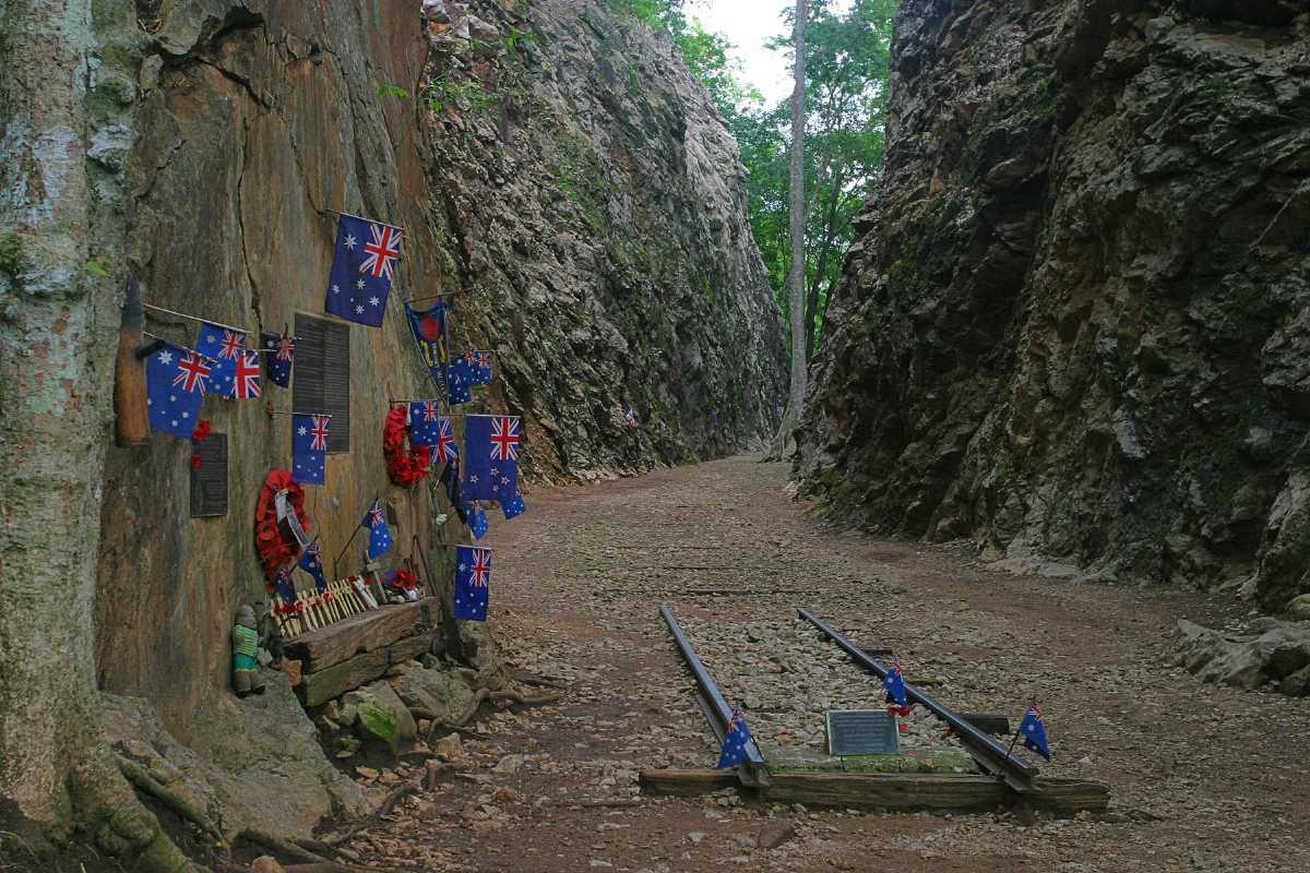 Hellfire Pass Museum in Kanchanaburi, Thailand