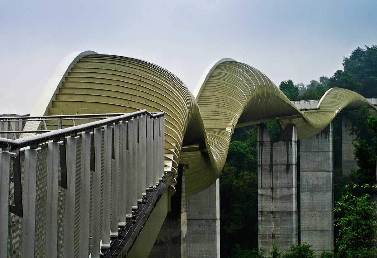 Henderson Waves Singapore, Architecture of Singapore