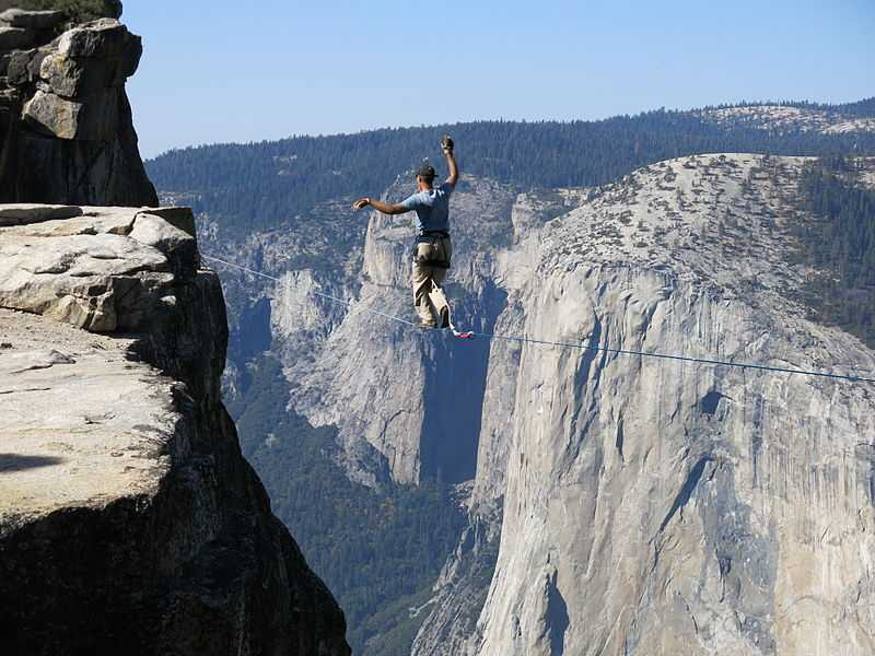 Highlining, 12 Of The Most Dangerous Adventure Sports In The World