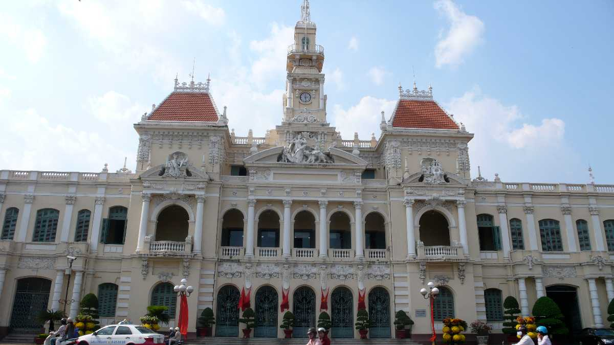 Ho Chi Minh City Hall Vietnam