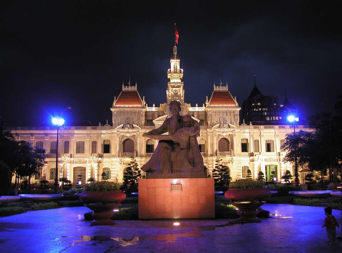 People Committee Building in Ho Chi Minh CIty