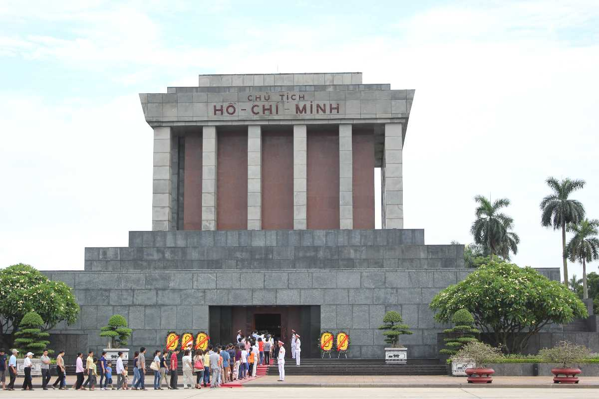 Ho Chi Minh Mausoleum and Museum in Hanoi