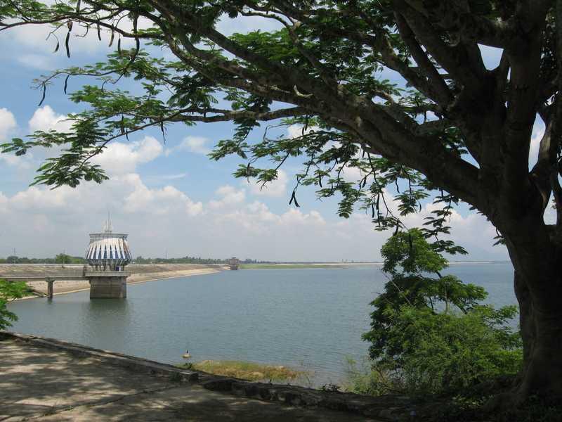Dau Tieng Lake, Tay Ninh, Vietnam