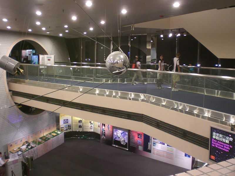 Hong Kong Space Museum Lobby