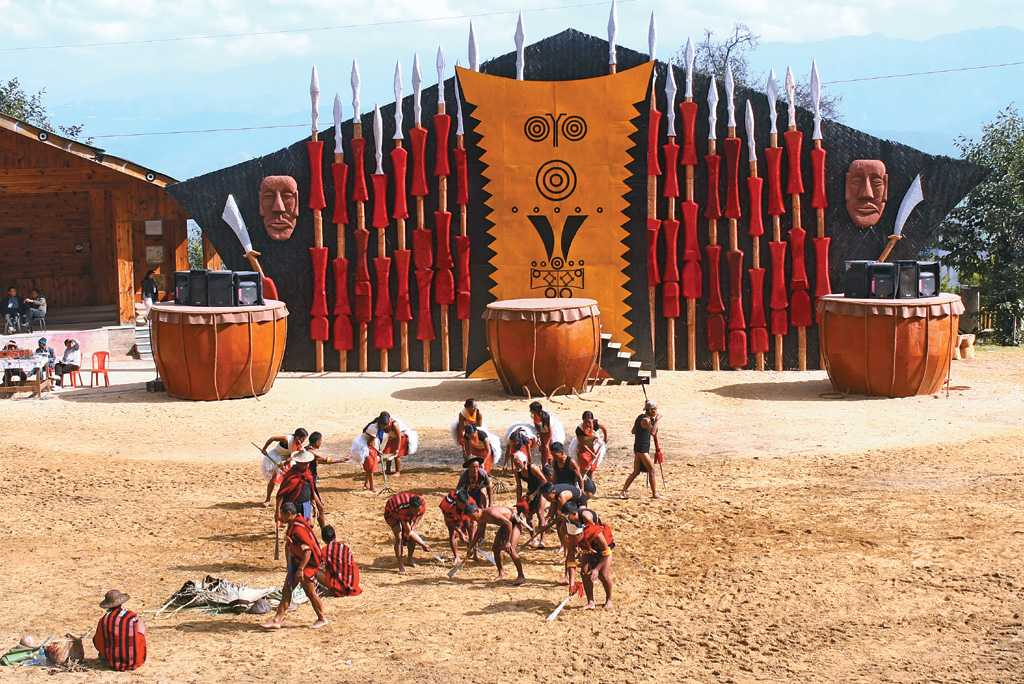 Events at the Hornbill Festival