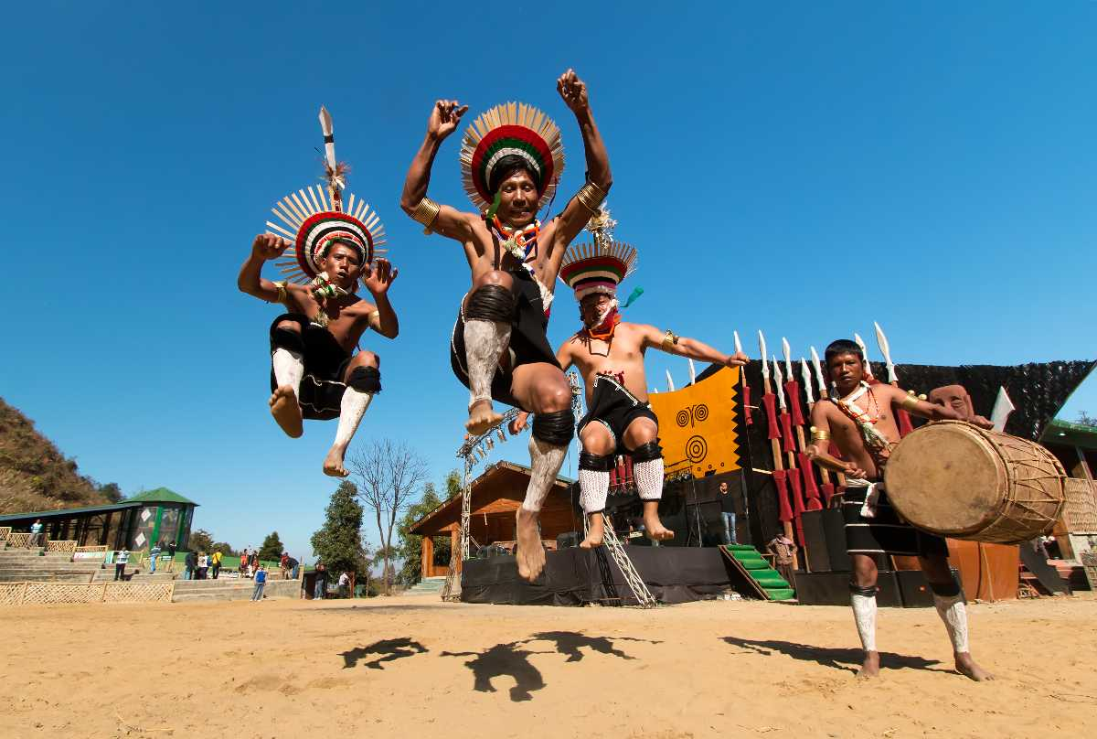 music festivals in india, hornbill music festival