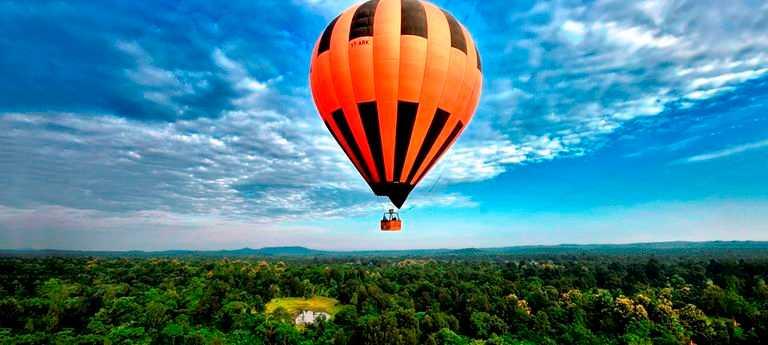 Beach Camps And Hot Air Balloon Ride At Goa