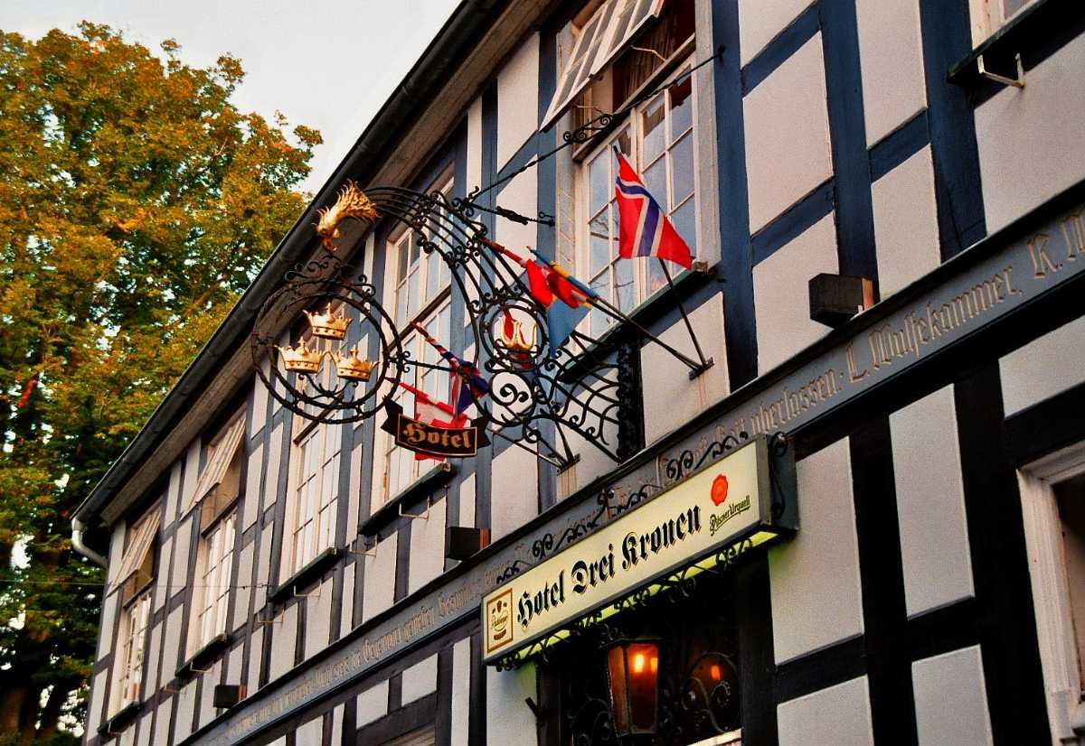 drei kronen hotel, stephansplatz vienna