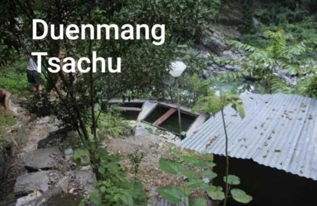 Hot spring in Bhutan