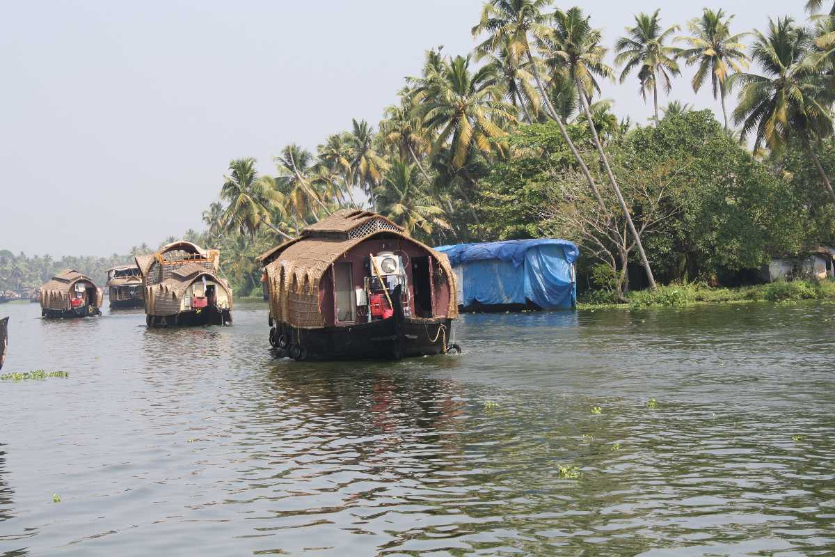 Kumarakom Backwaters, Boating in India