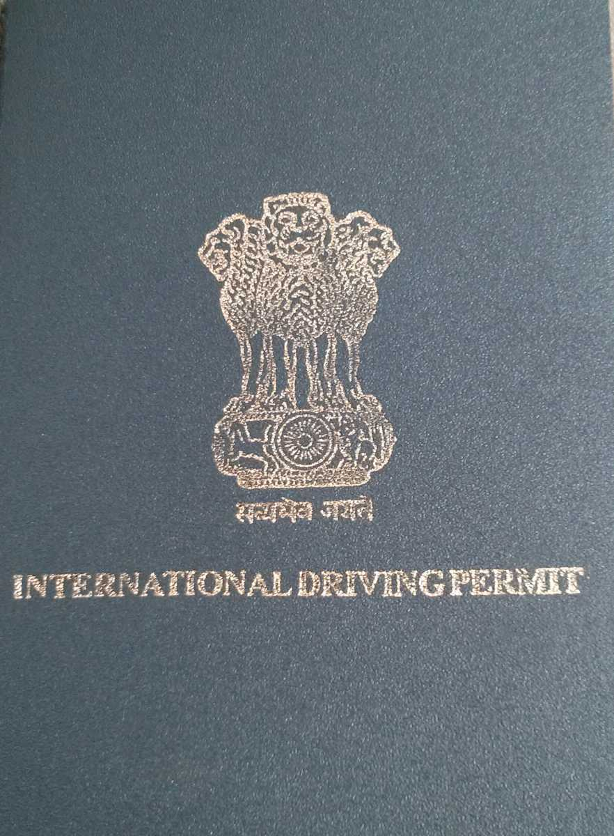 International Driving Licence in India