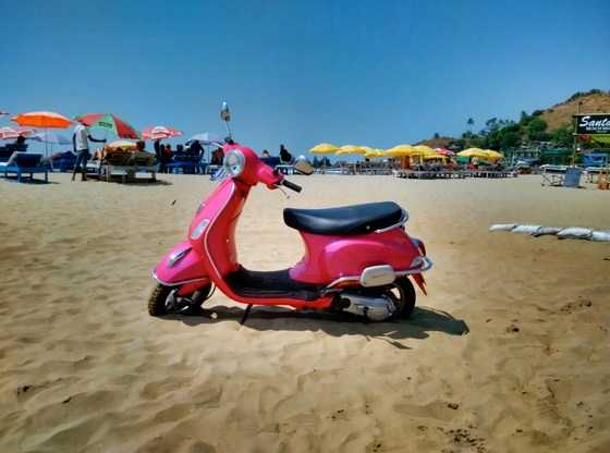 renting a bike in goa