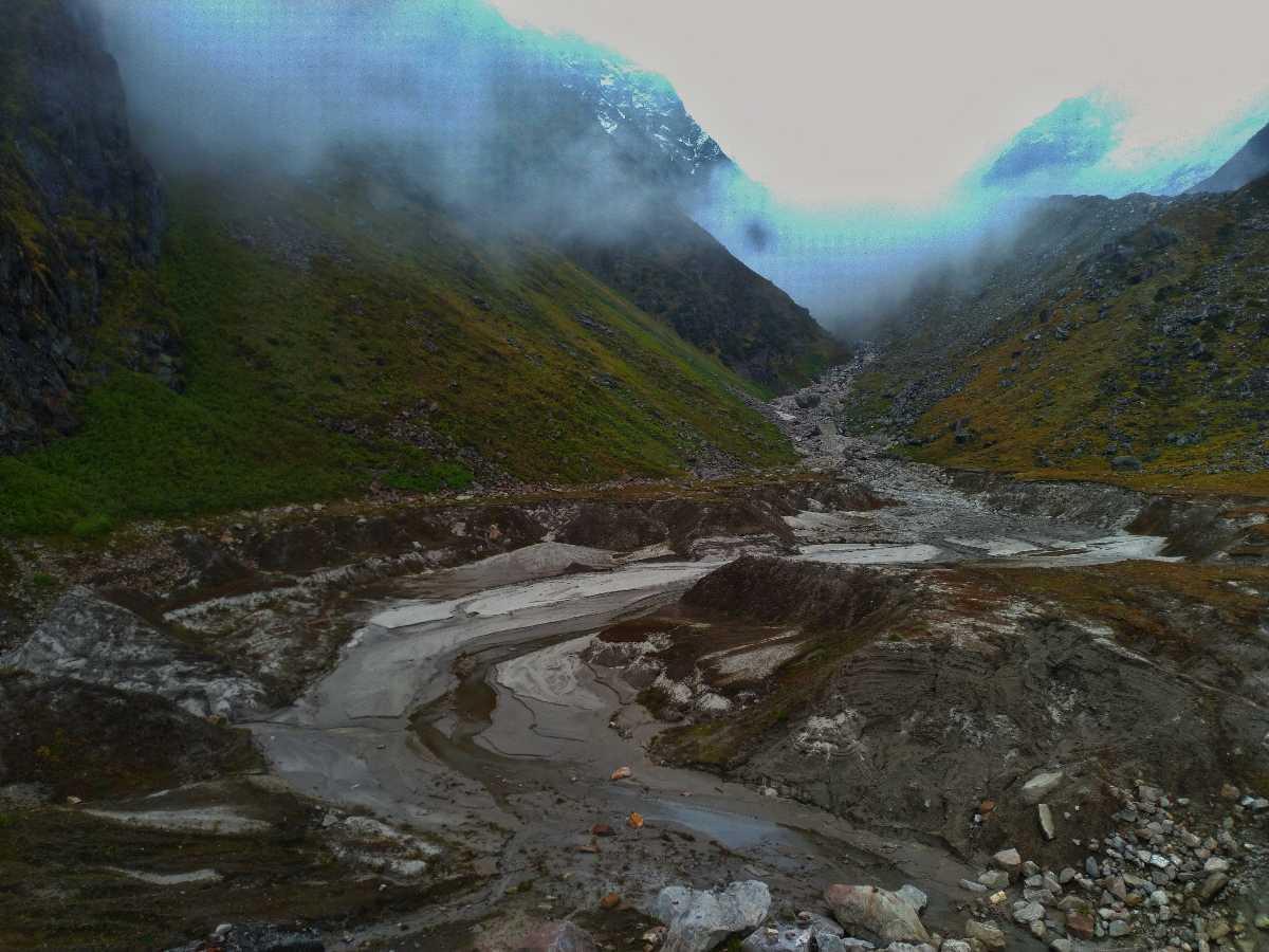 View from Chorabari Lake