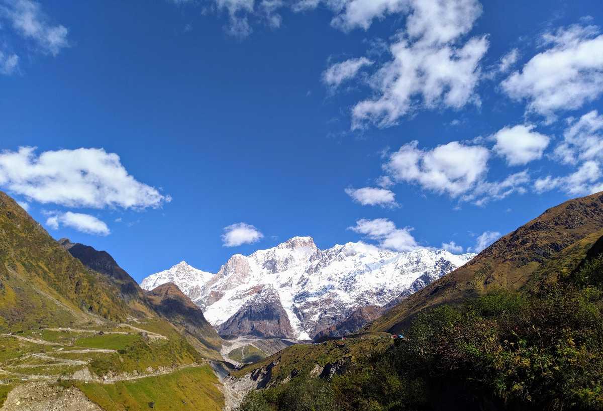 View from Kedarnath