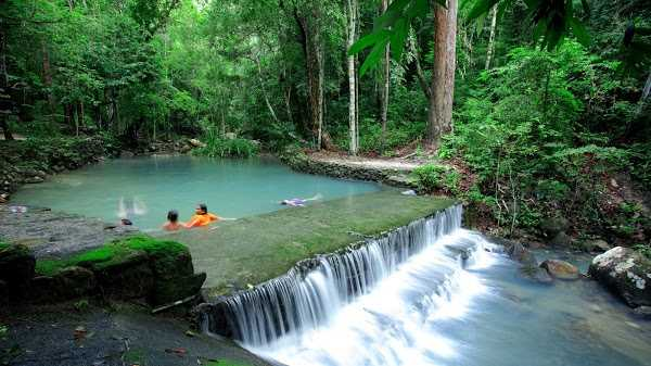 Sramanora Waterfall, Waterfalls in Koh Phangan