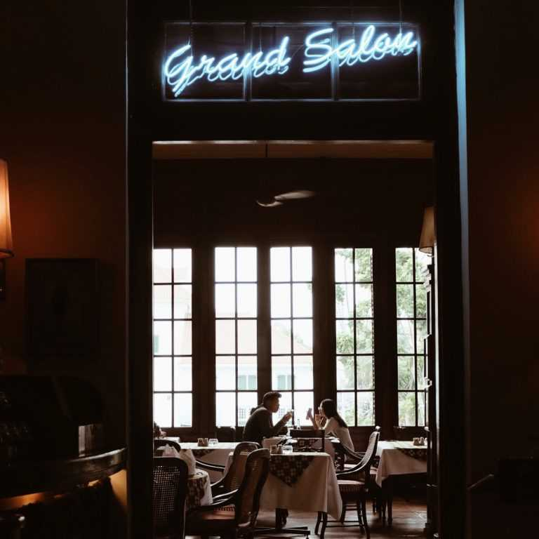 Grand Salon at Cafe Batavia