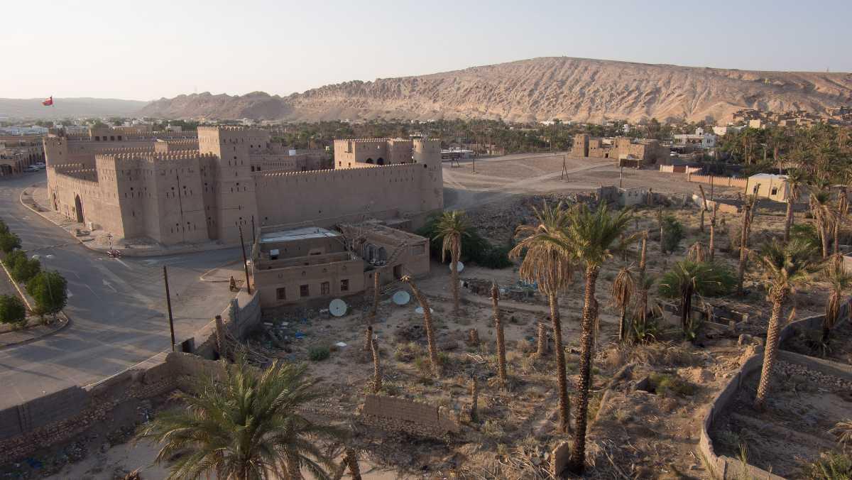 Ibri Castle, Ibri, Oman