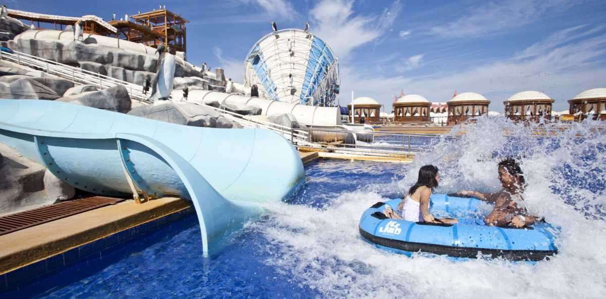 iceland water park, water parks in dubau