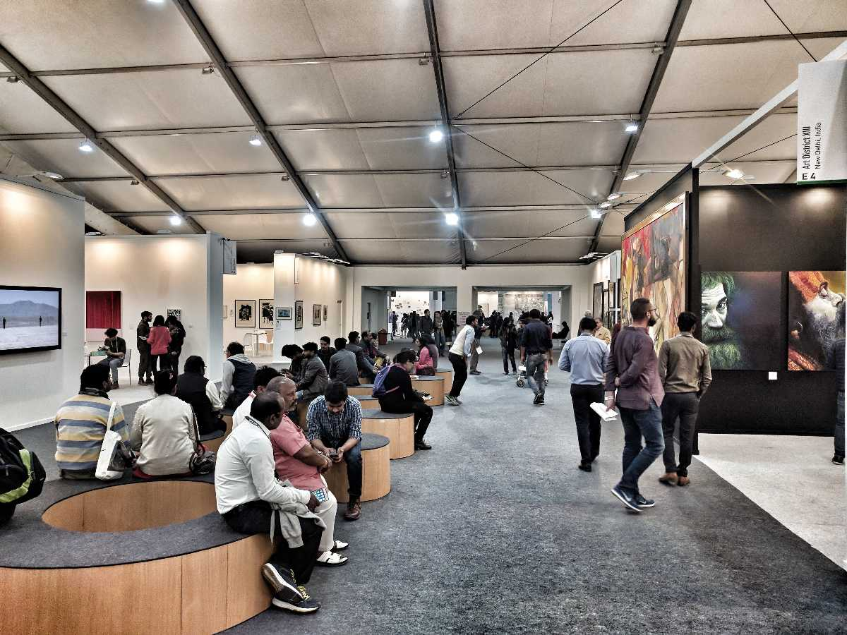 India Art Fair 2018 Interior