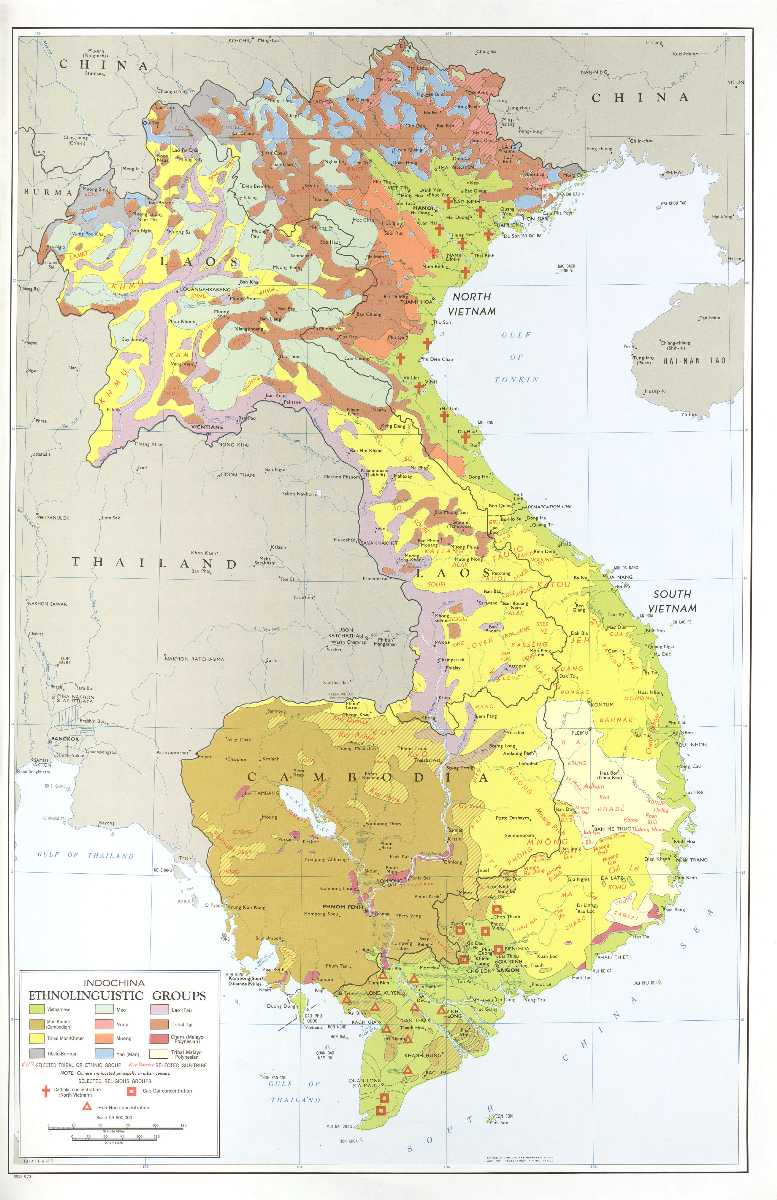 Languages in Vietnam, Linguistic Distribution in Southeast Asia