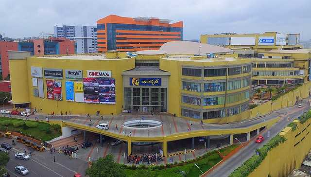 The vast inorbit mall in a picture