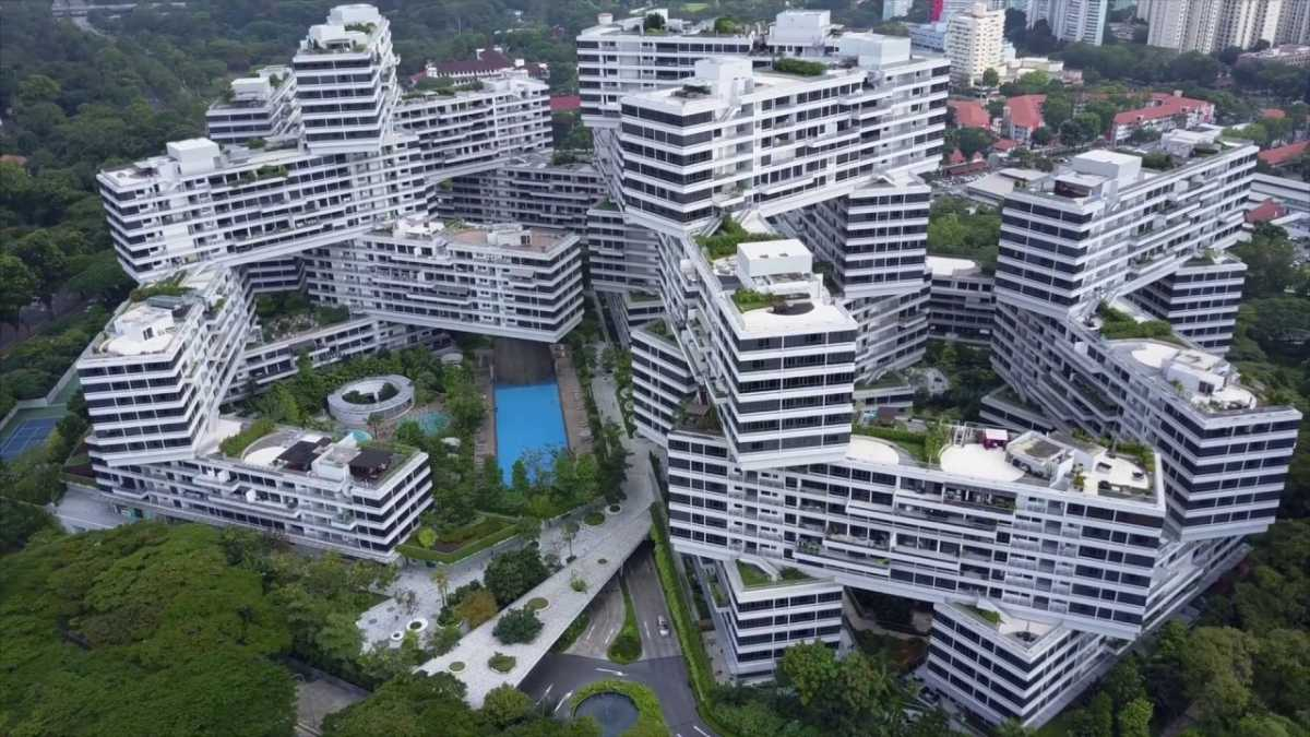 The Interlace, Top buildings in Singapore