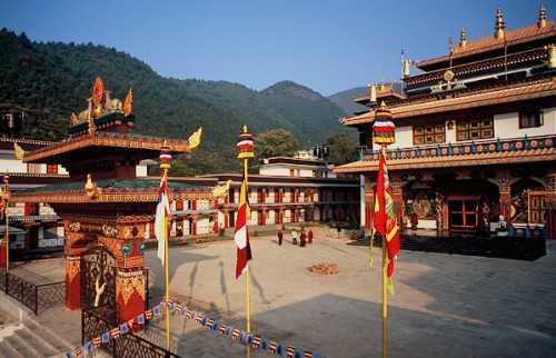 Rigon Tashi Choeling, Kathmandu monasteries
