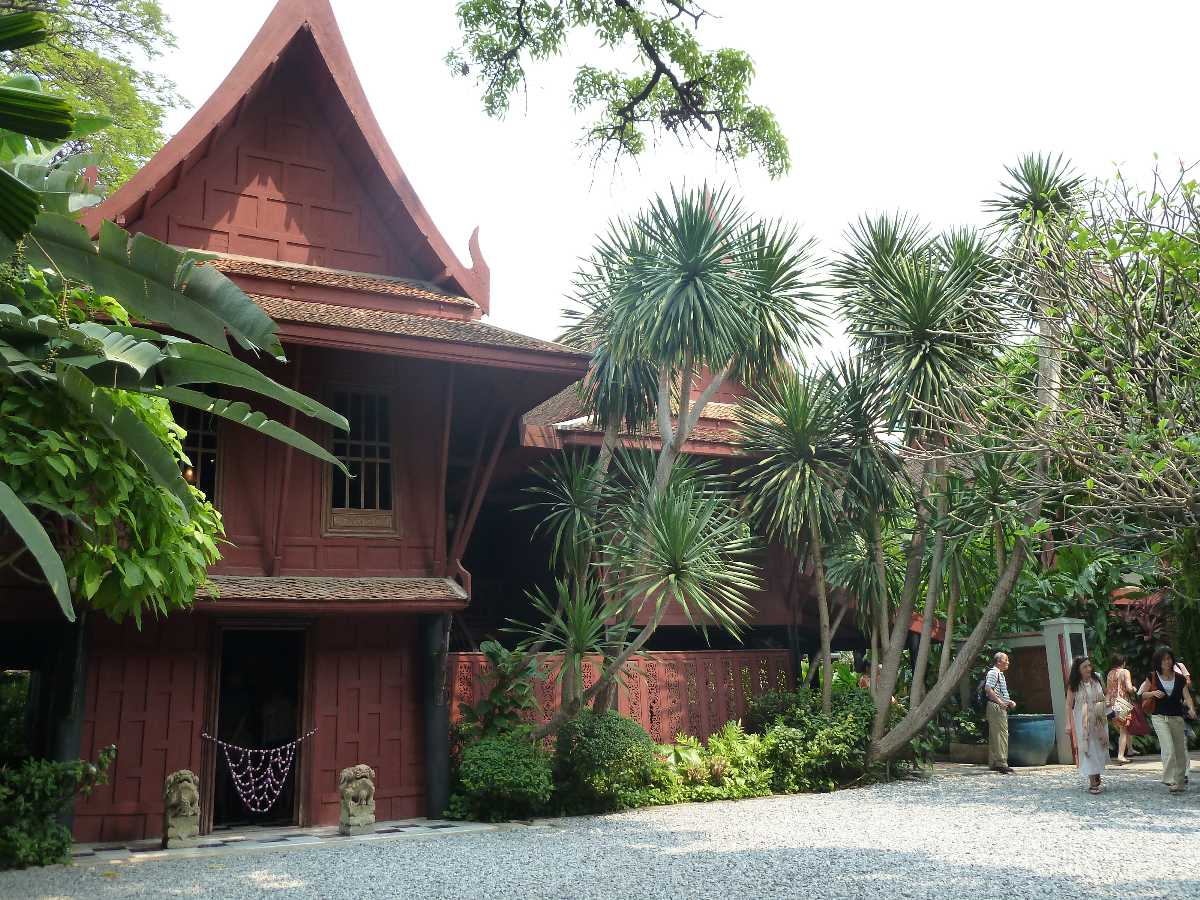 Jim Thompson House, Traditional Thai Architecture in Bangkok