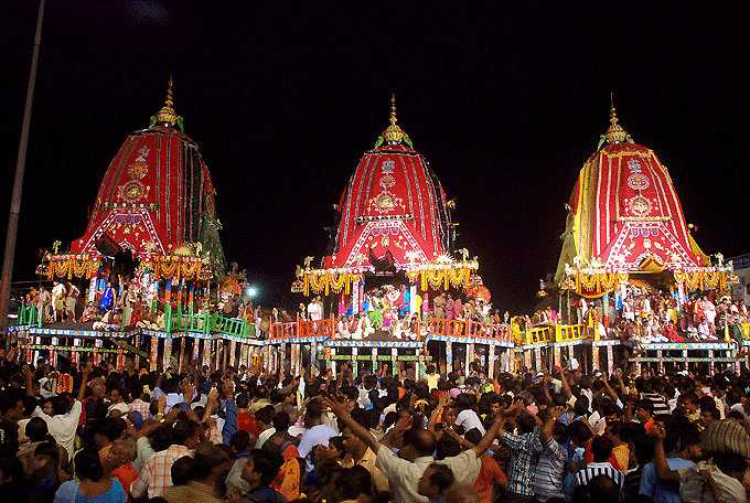 Rath Yatra, Festivals of India