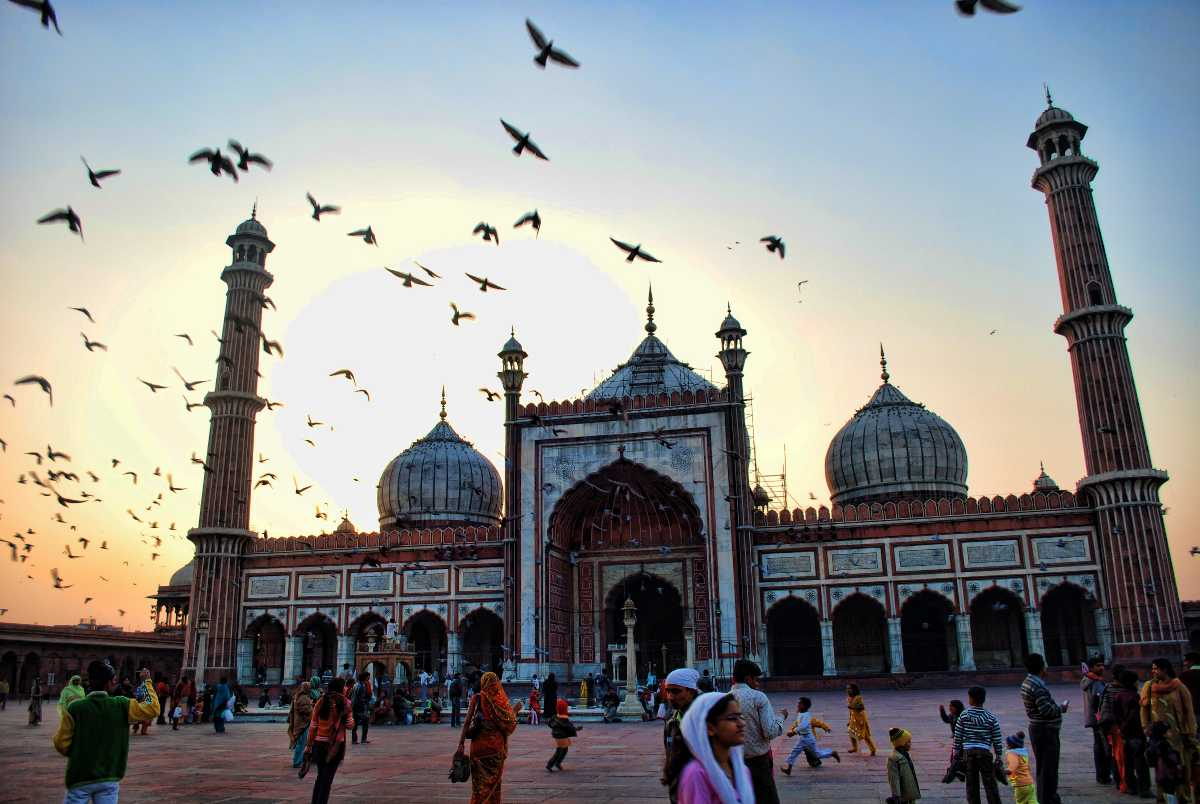 Jama Masjid, facts about india