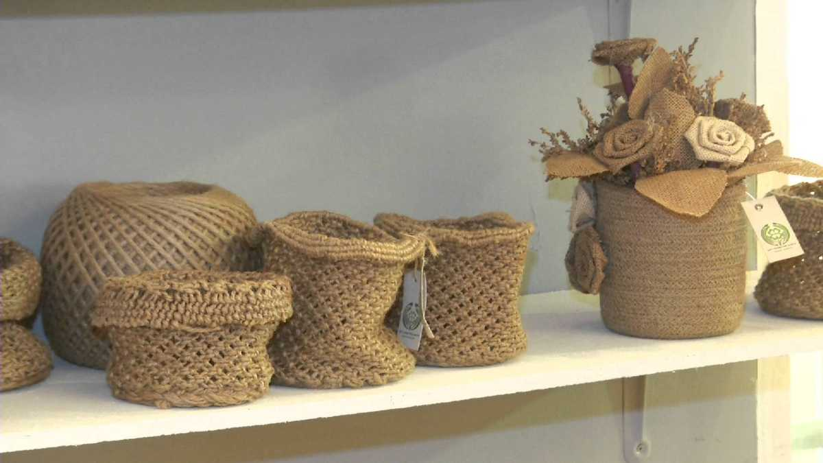 Jute, Handicrafts of India