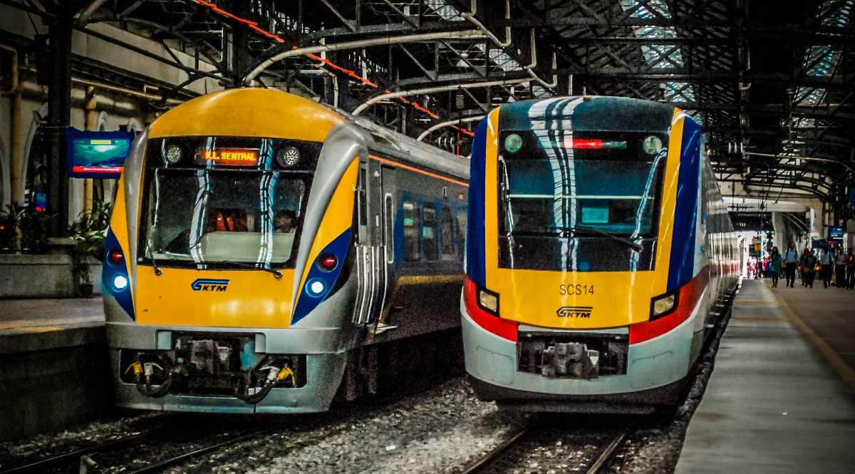Train in Kuala Lumpur