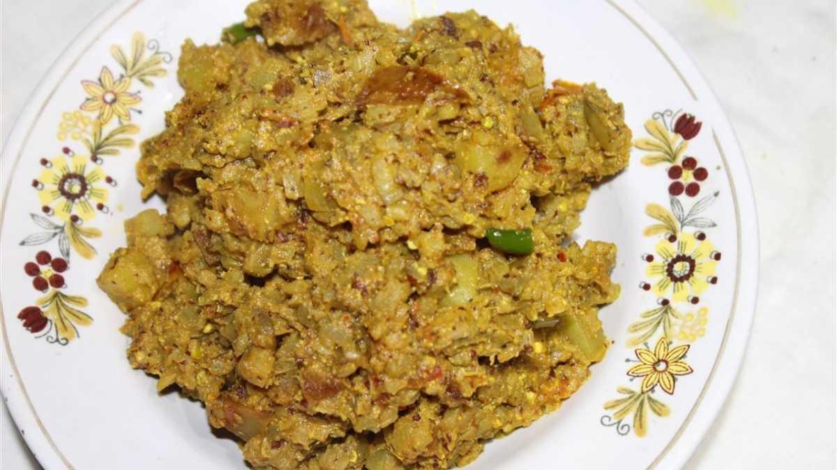 Kadali Manja Rai, Food of Odisha