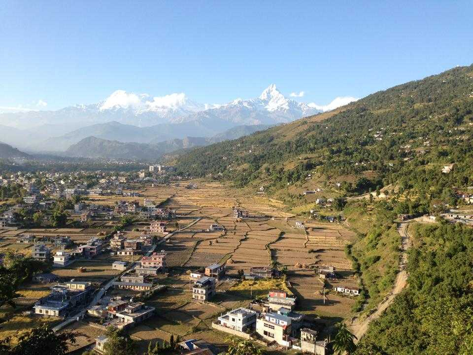 Kahun Danda, Viewpoints in Pokhara