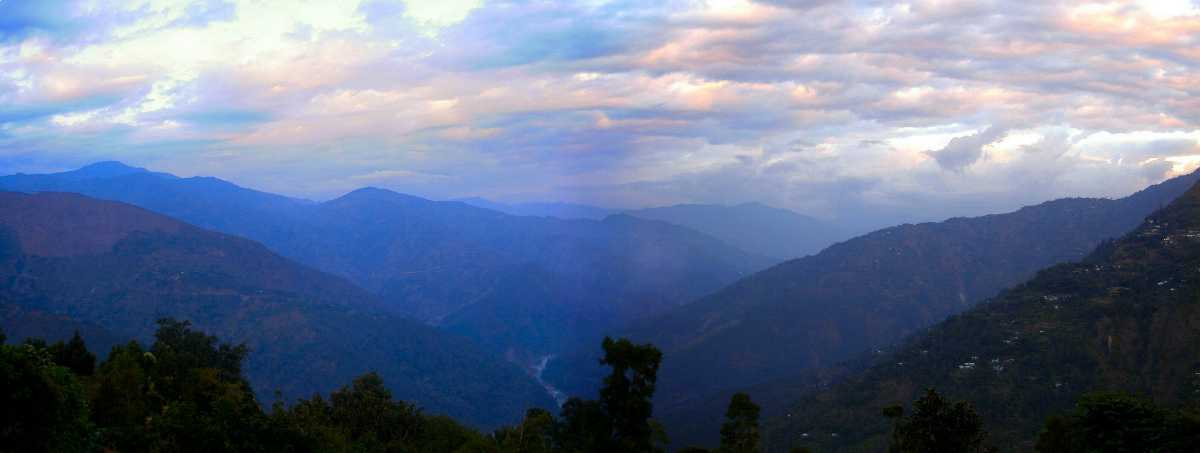 Panoramic View of Kalimpong