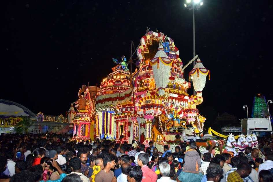 Festivals Celebrated at Kanipakam