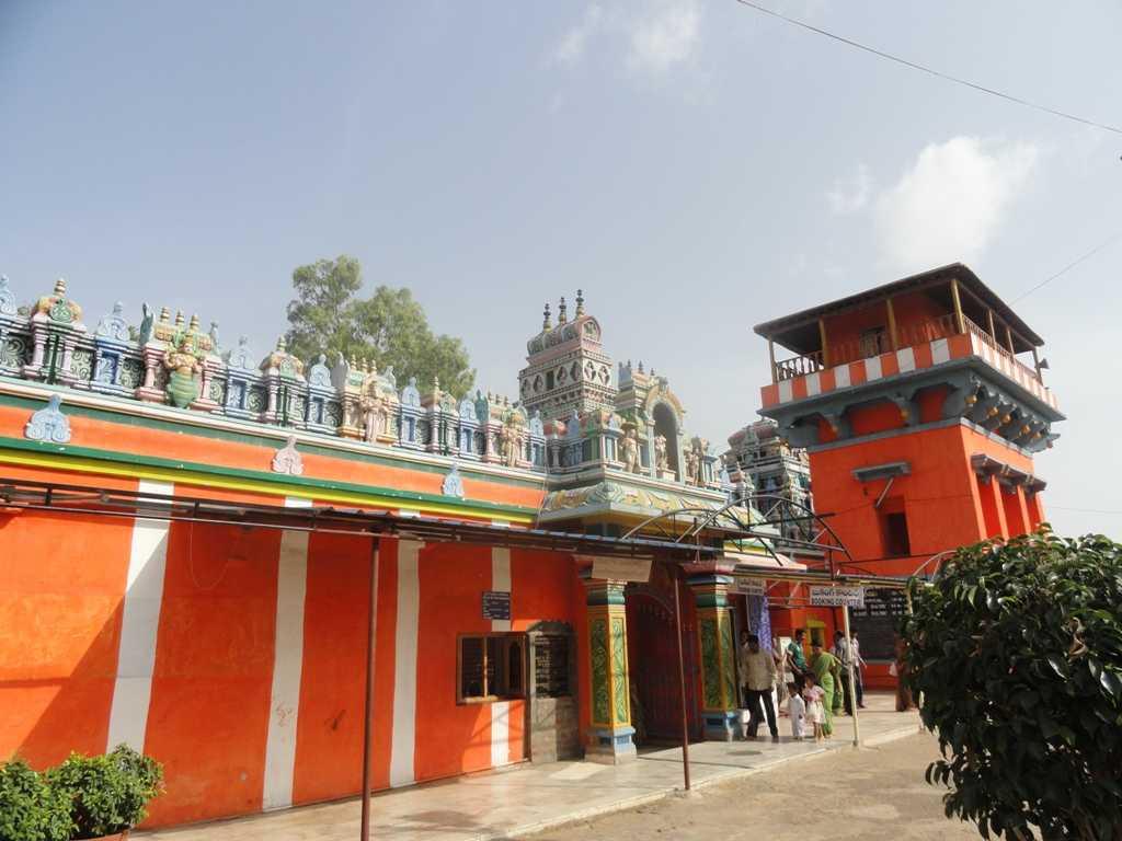 Karmanghat Hanuman Temple, Temples in Telangana