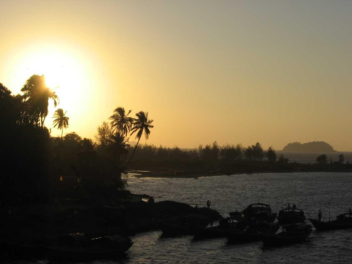 Sunset in Karwar