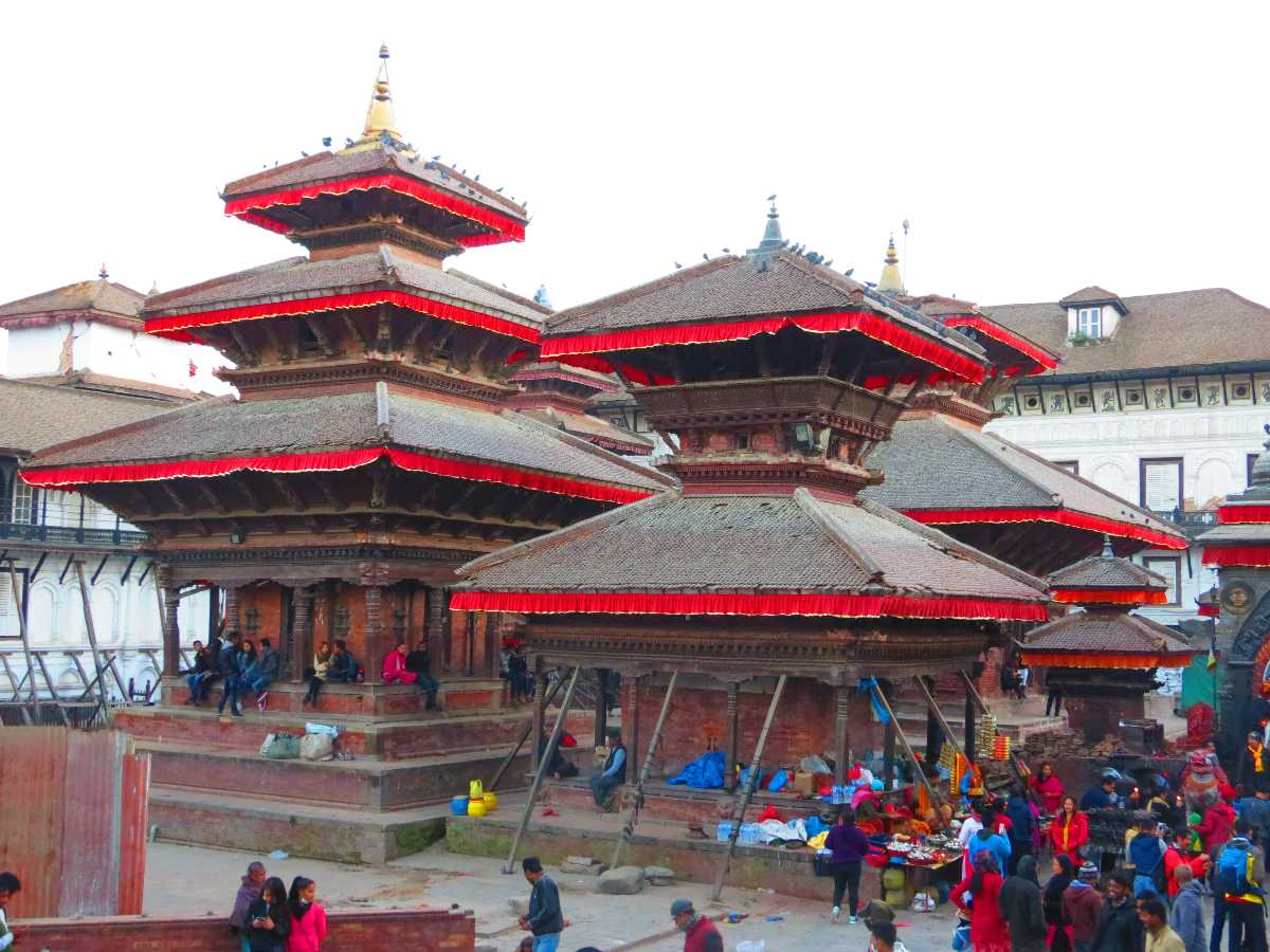 The iconic Kathmandu Durbar Square