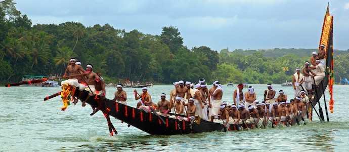 Boat race in Kerala, Facts about Kerala
