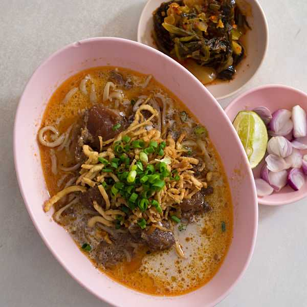 Khao Soi Noodle, Food in North Thailand, Northern Thailand Cuisine