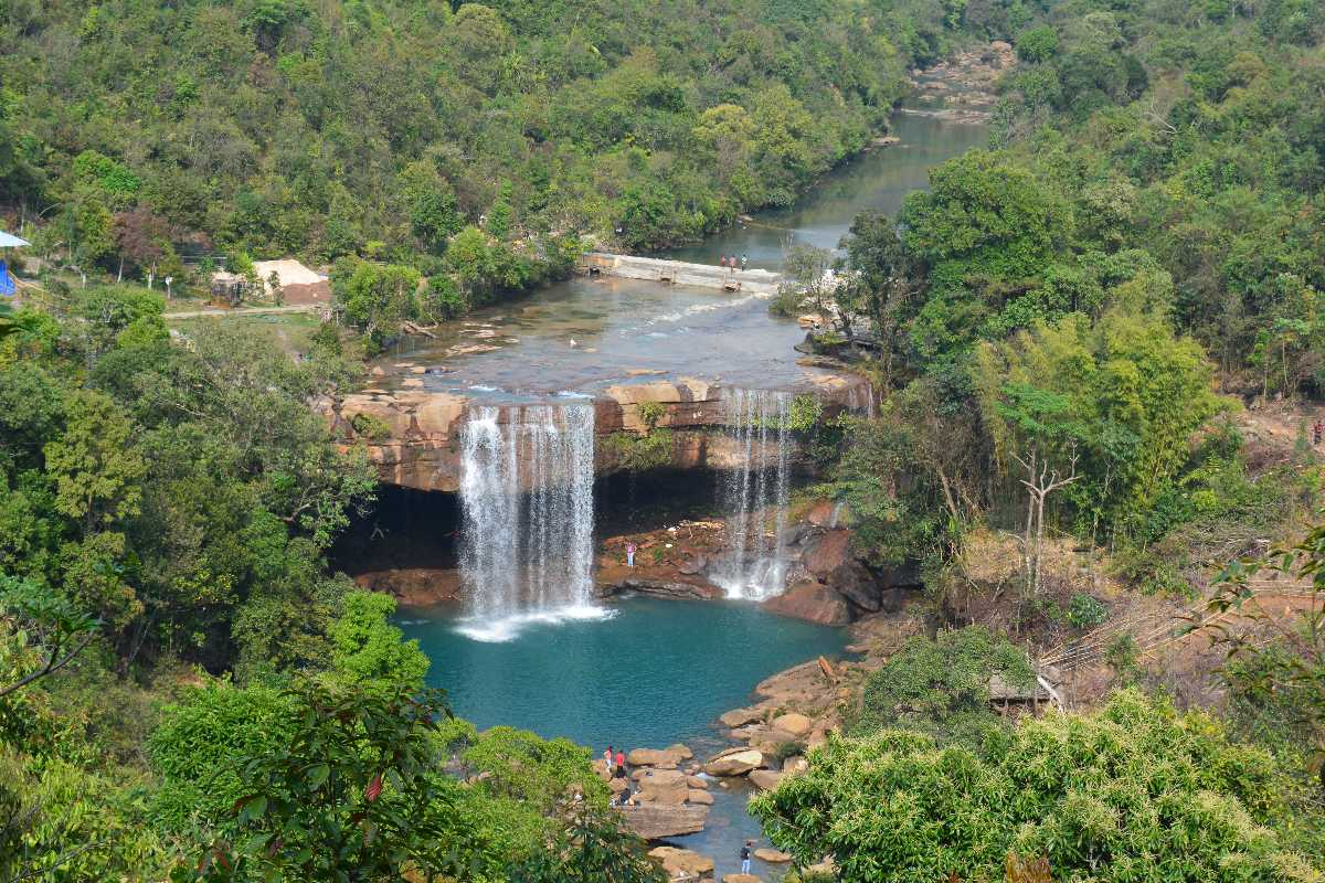 Krangsuri Waterfalls